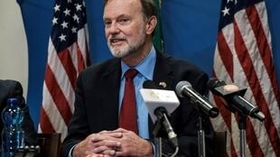 Tibor Nagy à Addis Ababa le 30 novembre 2018.