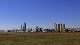 Цементный завод Lafarge в Джалабии