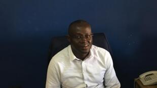 Le président de la Fédération sénégalaise de football, Augustin Senghor.