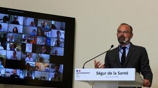 French prime minister Edouard Philippe said it was a good moment to re-evaluate health services as the country emerged from the worst effects of the coronavirus pandemic.