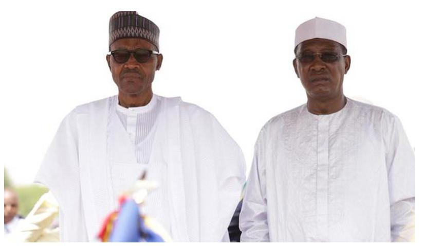 Muhammadu Buhari da  Idriss Deby