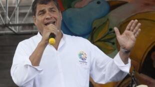 """Rafael Correa pedirá en la cumbre de Unasur la creación """"urgente"""" de un centro de arbitraje regional."""