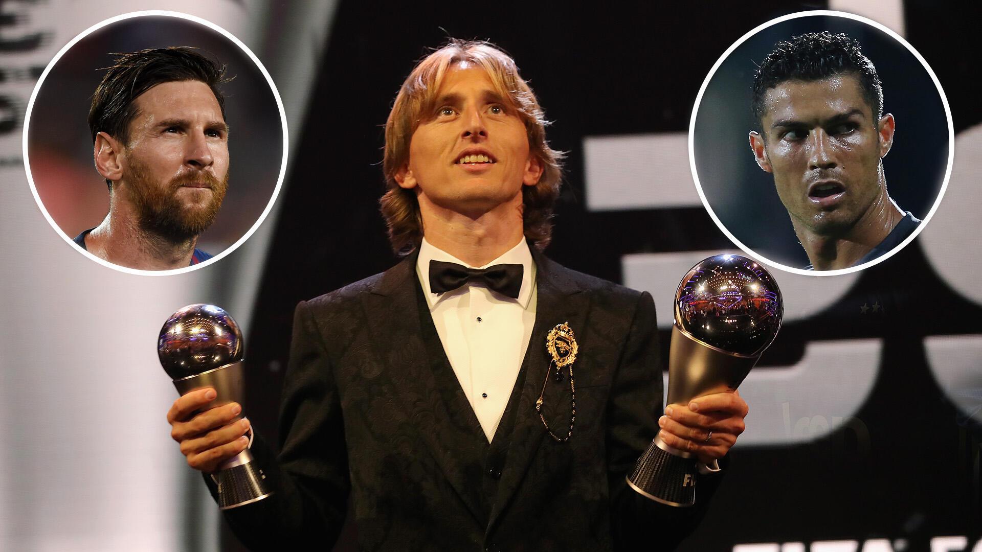 Luka Modric ya kawo karshen shekaru 10 na Ronaldo da Messi wajen lashe kyautar gwarzon dan wasa ta Ballon d'Or.