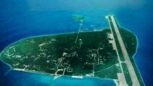 中國在南海西沙永興島建成4千米軍用機場跑道