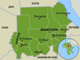 Le Soudan.