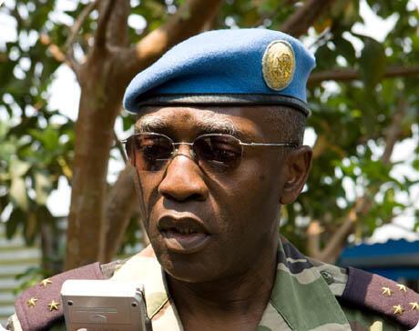 Général Babacar Guèye, chef de la MINUSCA.