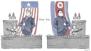 Le président américain et le leader nord-coréen se sont rencontrés lors d'un sommet historique à Singapour le 12 juin.