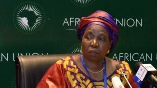 Nkosazana Dlamini-Zuma, la présidente de l'Union africaine.