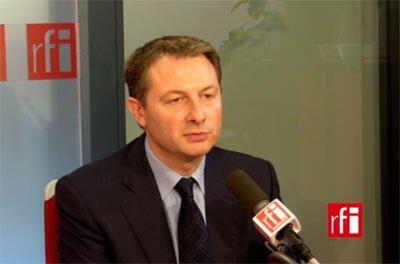 Sébastien Huyghe, porte-parole de l'UMP et député du Nord.
