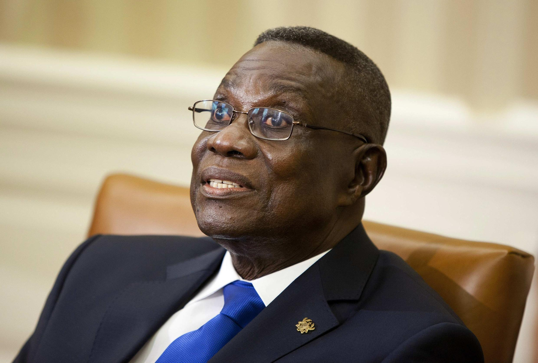 Президент Ганы Джон Эванс Атта Миллс 08/03/2012 (архив)