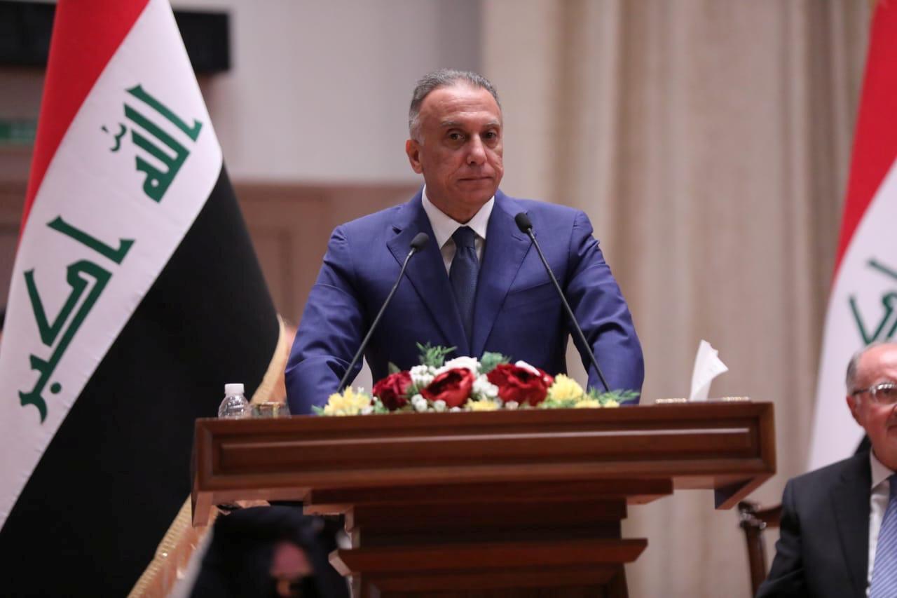 مصطفی الکاظمی نخست وزیر عراق. .