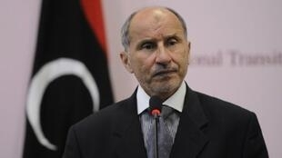 Moustafa Abdel Jalil, líder do Conselho Nacional de Transição, na Líbia.