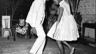 Nuit de Noël (Happy Club),  Malick Sidibé,1965, in We Love Art! Agnès B exhibition