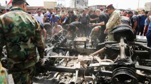 什叶派聚集区萨德尔镇遭遇汽车炸弹袭击 2016年5月11日