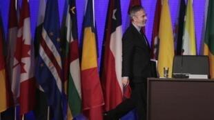 Ministro das Relações Exteriores, Antonio Patriota, apresentou o texto para a avaliação dos países participantes da conferência da ONU.