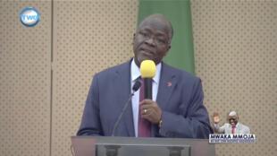 Rais wa Tanzania, John Pombe Magufuli, Dar es Salaam, Novemba 4, 2016.