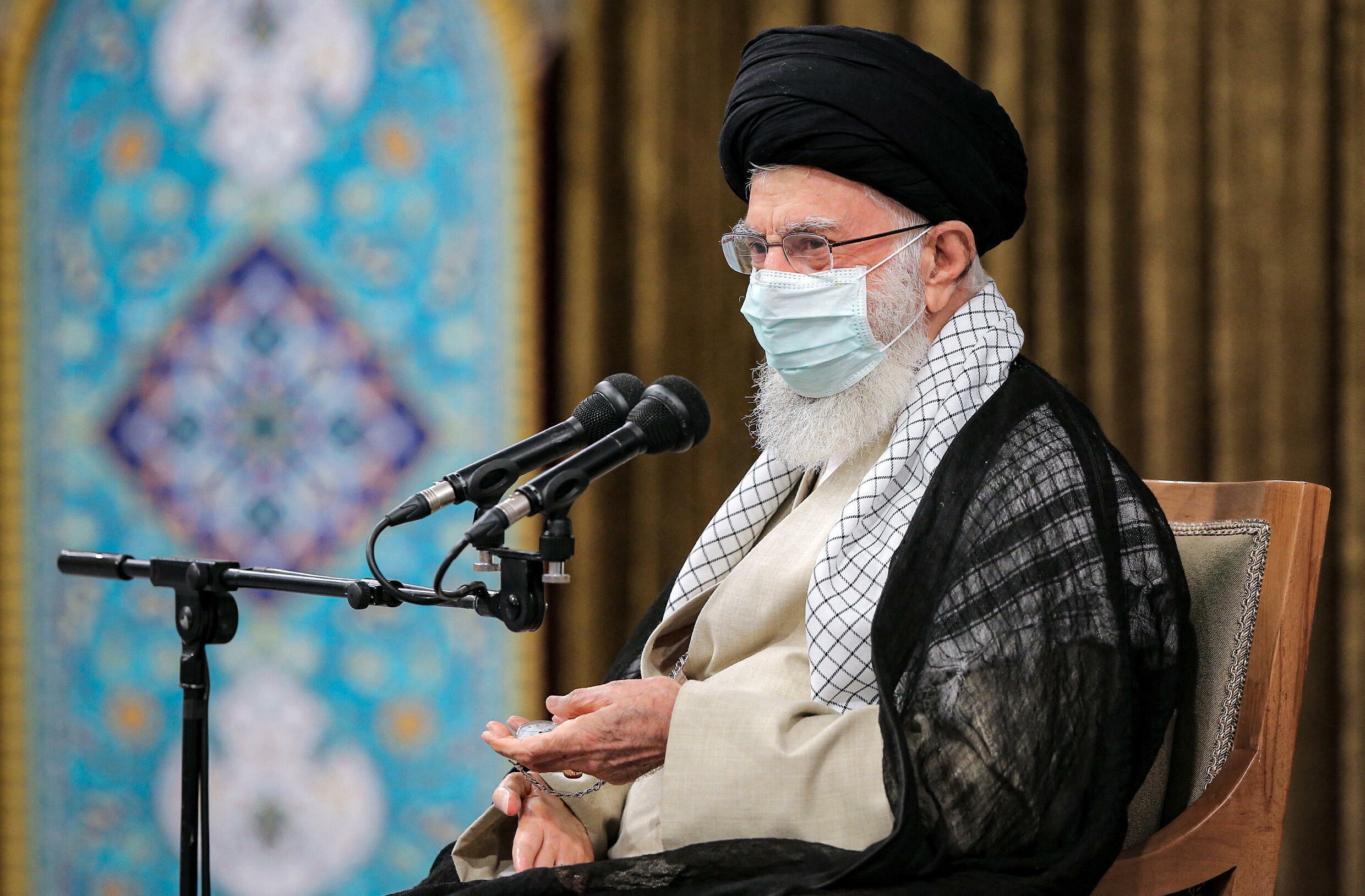 Iran's supreme leader Ayatollah Ali Khamenei sums up the lessons learned in an address to the outgoing government of President Hassan Rouhani