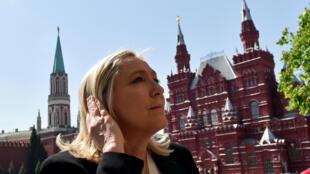 Marine Le Pen da ta sha kayi a hannun Emmanuel Macron a zaben shugabancin Faransa
