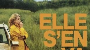 Detalle del afiche de la película 'Elle s'en va'.