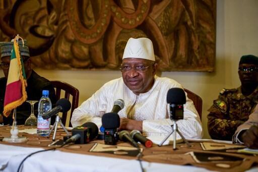 Malian Prime Minister Soumeylou Boubeye Maiga in October 2018