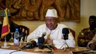 Primeiro-ministro maliano Soumeylou Boubeye Maiga. 13 de Outubro de 2018.