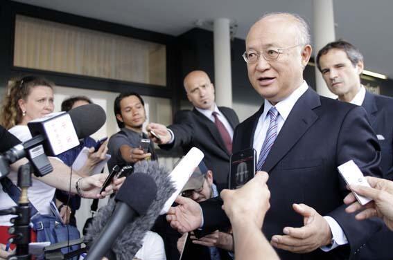 یوکیو آمانو، مدیر کل آژانس بین المللی انرژی اتمی