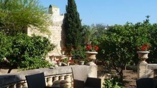 Jardin à Malte.