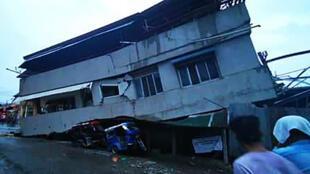 菲律宾棉兰老岛发生里氏6,8级地震2019年12月15日