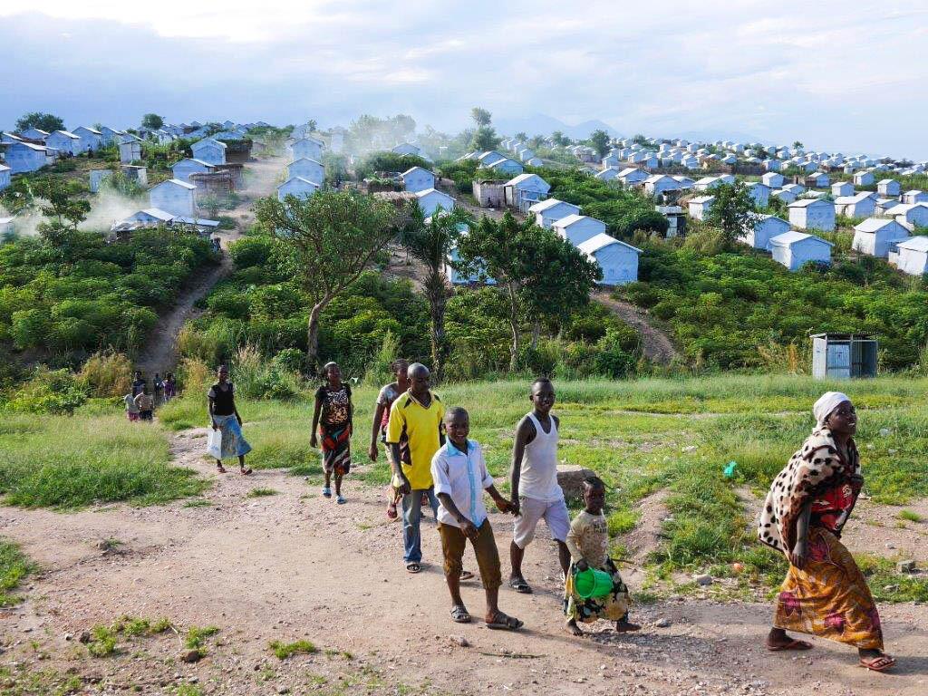 Kambi ya wakimbi wa Burundi ya Lusenda, mashariki mwa DRC.