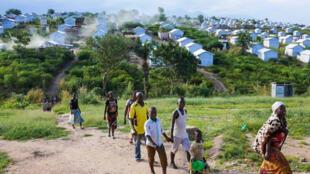 Le camp de Lusenda accueille plus de 26 000 réfugiés.