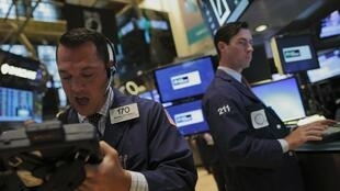Des traders à la Bourse de New York, le 26 août dernier.