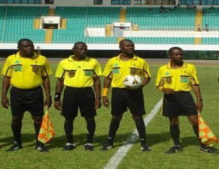 Waamuzi wa soka nchi Ghana