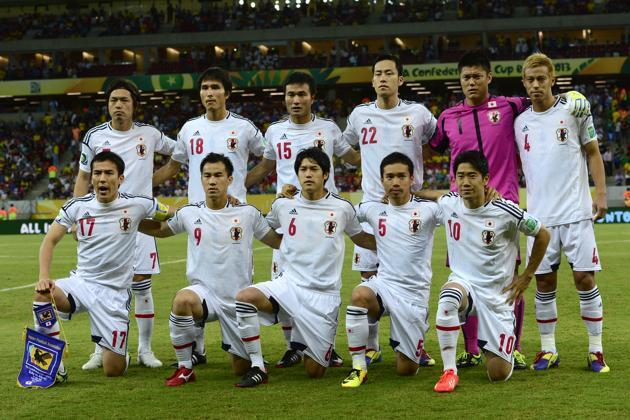 Đội tuyển Nhật, niềm hy vọng của bóng đá châu Á tại Cúp thế giới Brazil 2014.
