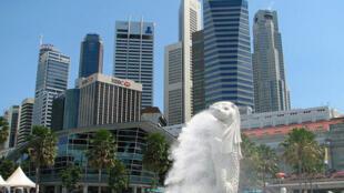 新加坡新崛起的商业中心