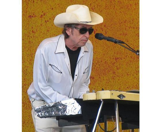 Боб Дилан в Нью-Орлеане в 2006 г.