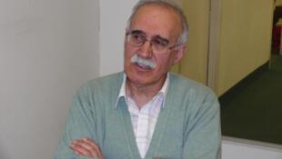 محمدرضا شالگونی، فعال سیاسی چپ