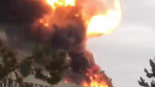Взрыв в здании университета Лиона