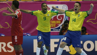 O Brasil goleou o Panamá por 16-0, conseguindo o apuramento para os quartos-de-final