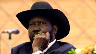 Rais wa Sudan Kusini Salva Kiir.