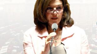 Nathalie Goulet Sénatrice UDI de l'Orne et présidente de la commission d'enquête au Sénat sur l'organisation et les moyens de la lutte contre les réseaux jihadistes en France et en Europe