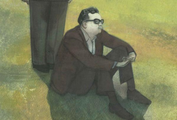 Tapa de la historieta 'Maldito Allende'.
