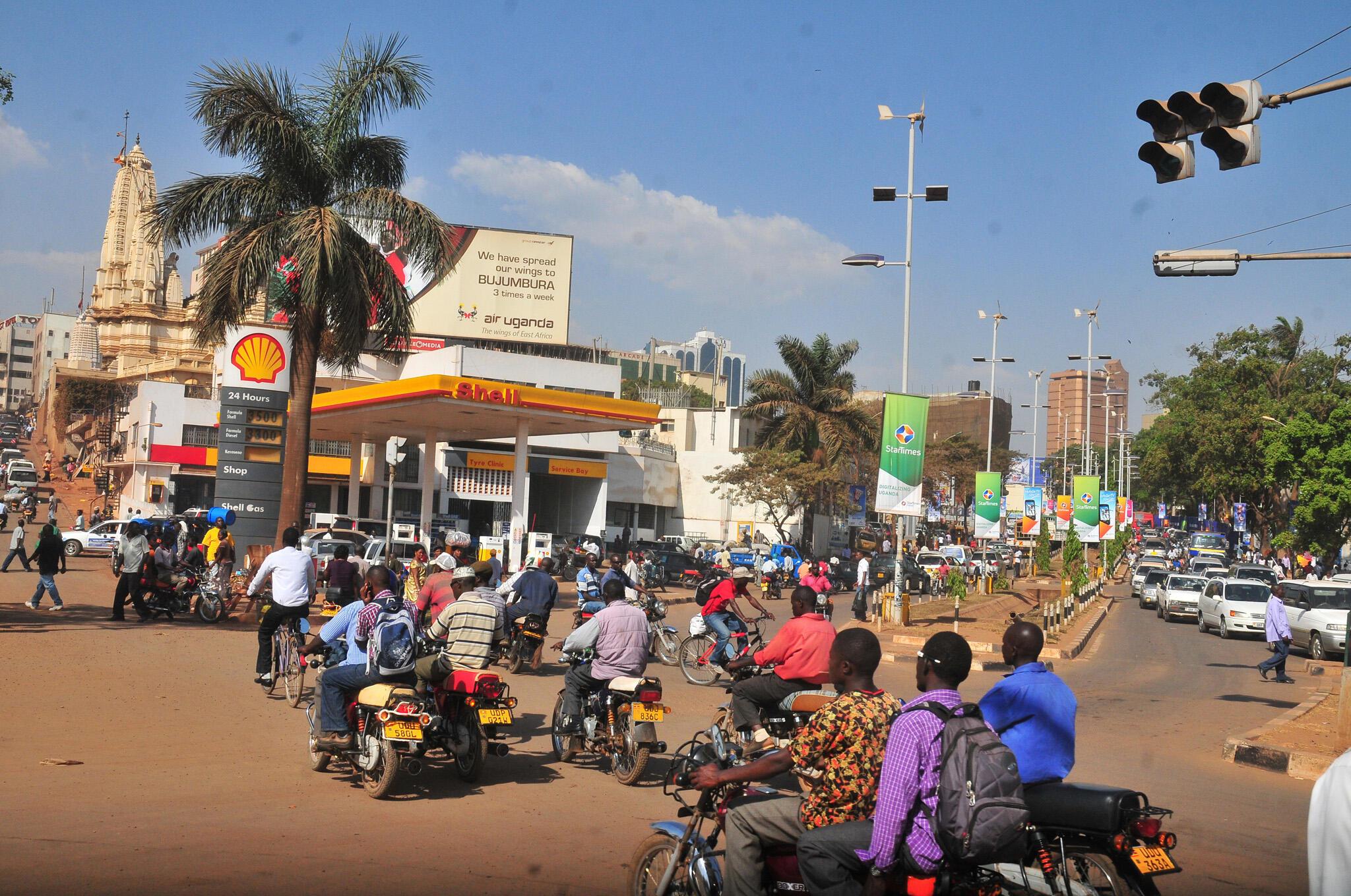 Dans une rue de Kampala, capitale de l'Ouganda. (Image d'illustration)