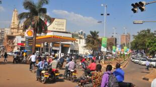 Dans une rue de Kampala, capitale de l'Ouganda (image d'illustration).