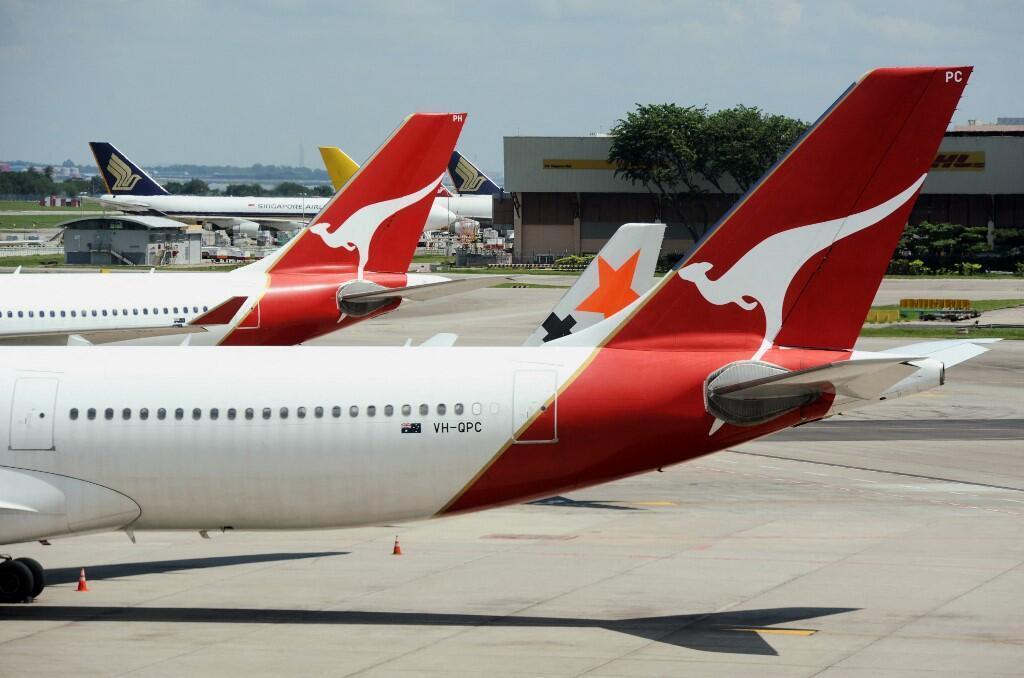 Australie Singapour Avions Quantas Bulle de tourisme