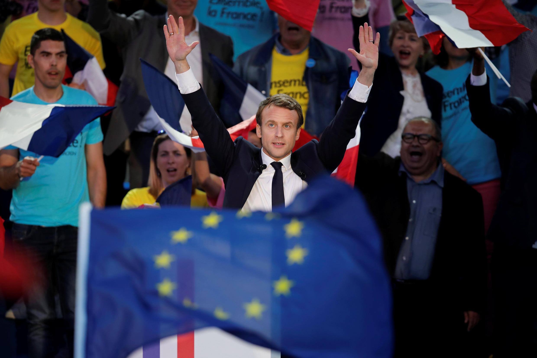 Emmanuel Macron era desconhecido do grande público até 2014