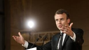 Le discours d'Emmanuel Macron au Collège des Bernardins en avril 2018 avait provoqué de vives réactions.