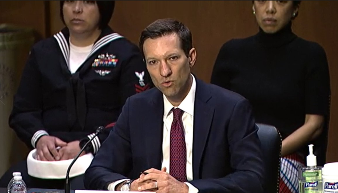美国国防部印太事物助理部长获提名人伊莱·拉特纳资料图片