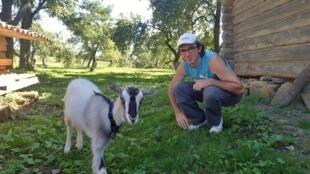 Три года назад Борис Буаняр переехал из Франции в деревню Стражевичи в 130 километрах от Витебска.