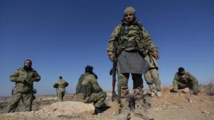 'Yan tawayen Syria da ke fada da dakarun gwamnatin Assad