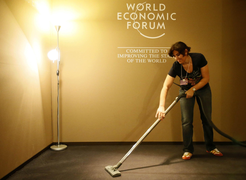 Подготовка к экономическому форуму в Давосе 21/01/2013